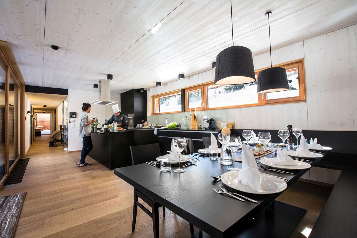 Enjoy-Osttirol: Gradonna Chalets, Esszimmer, Kochen