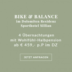 Enjoy-Osttirol: Angebot Bike & Balance