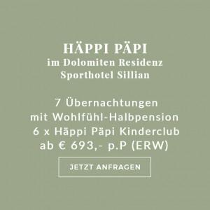 Enjoy-Osttirol: Angebot Häppi Päpi