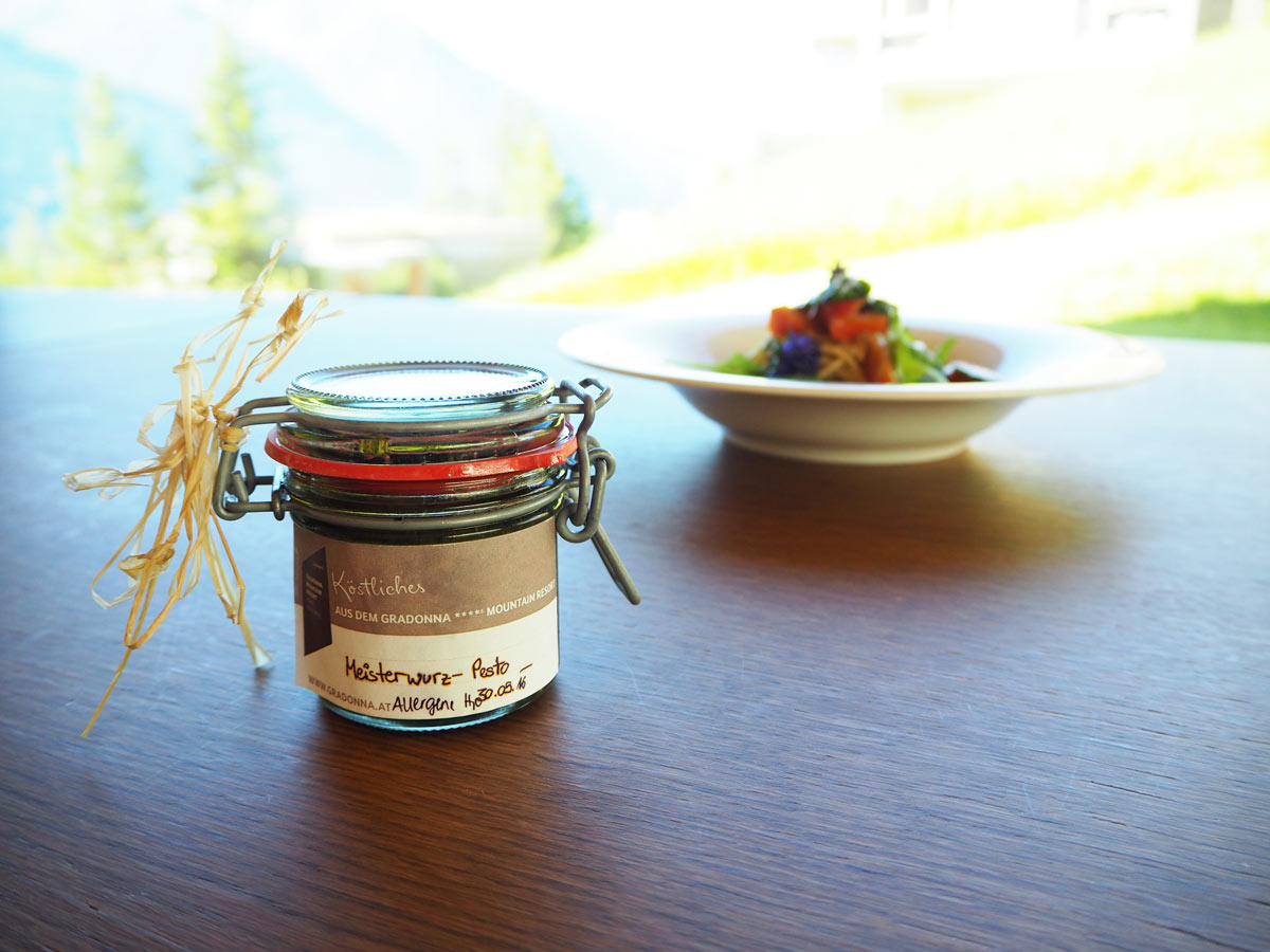 Enjoy-Osttirol: Meisterwurz-Pesto